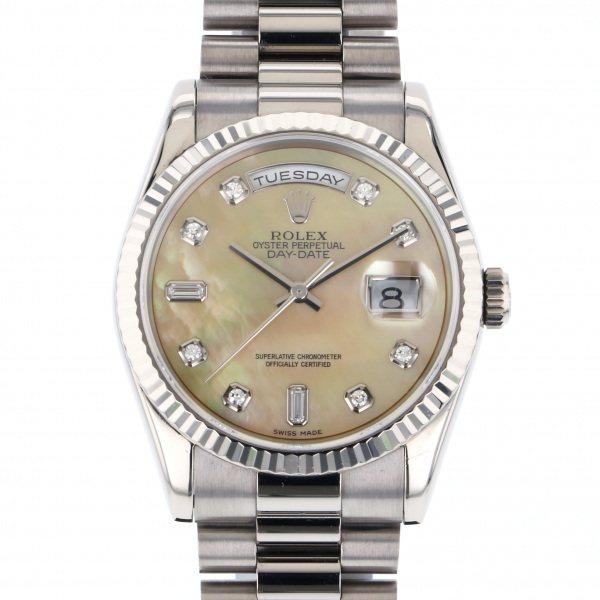 ロレックス ROLEX デイデイト 118239NG イエロー文字盤 メンズ 腕時計 【中古】