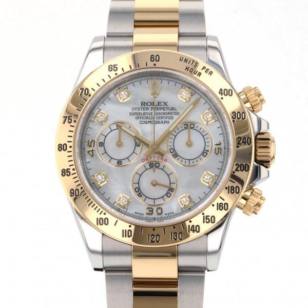 ロレックス ROLEX デイトナ 116523NG ホワイト文字盤 メンズ 腕時計 【中古】