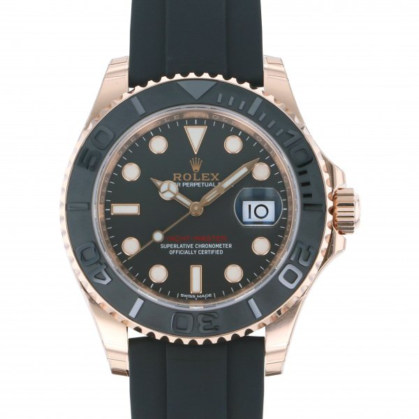 ロレックス ROLEX ヨットマスター 40 116655 ブラック文字盤 メンズ 腕時計 【新品】