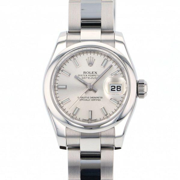 ロレックス ROLEX デイトジャスト 179160 シルバー文字盤 レディース 腕時計 【中古】