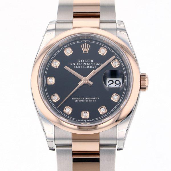 ロレックス ROLEX デイトジャスト 126201G ブラック文字盤 メンズ 腕時計 【新品】