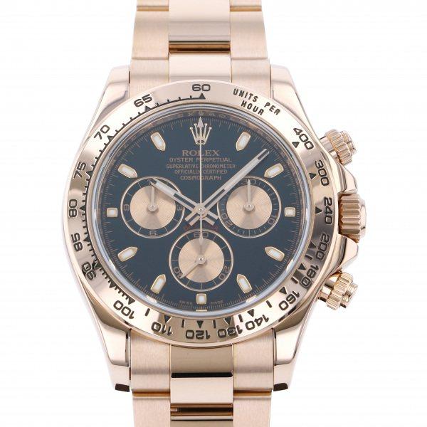 ロレックス ROLEX デイトナ 116505 ブラック/ピンク文字盤 メンズ 腕時計 【中古】