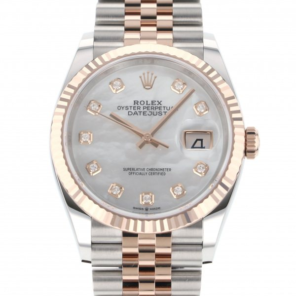 ロレックス ROLEX デイトジャスト 36 126231NG ホワイト文字盤 メンズ 腕時計 【新品】