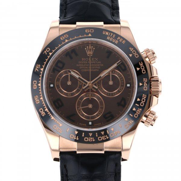 ロレックス ROLEX デイトナ 116515LN チョコレート文字盤 メンズ 腕時計 【中古】