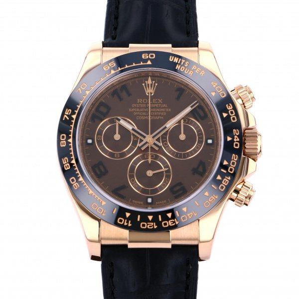 ロレックス ROLEX デイトナ 116515LN チョコレートアラビア文字盤 メンズ 腕時計 【中古】