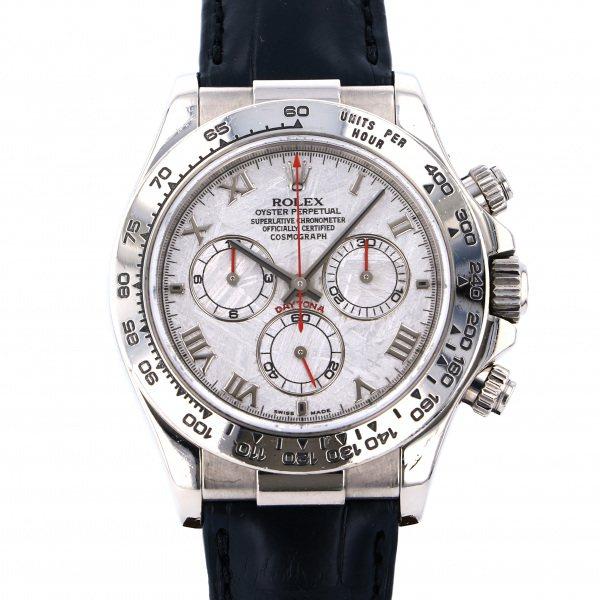 ロレックス ROLEX デイトナ 116519 シルバー文字盤 メンズ 腕時計 【中古】