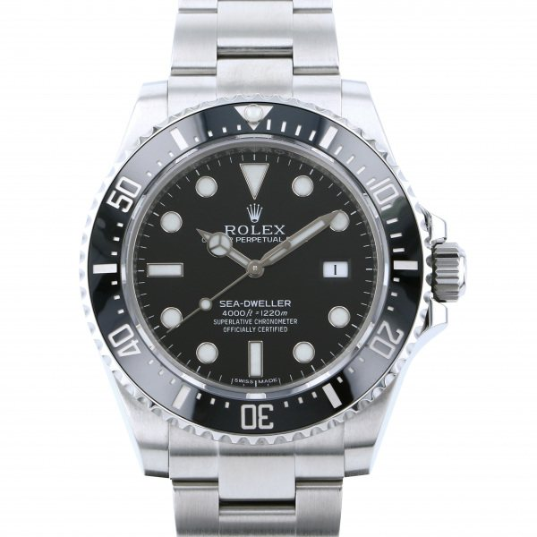 ロレックス ROLEX シードゥエラー 4000 116600 ブラック文字盤 メンズ 腕時計 【中古】