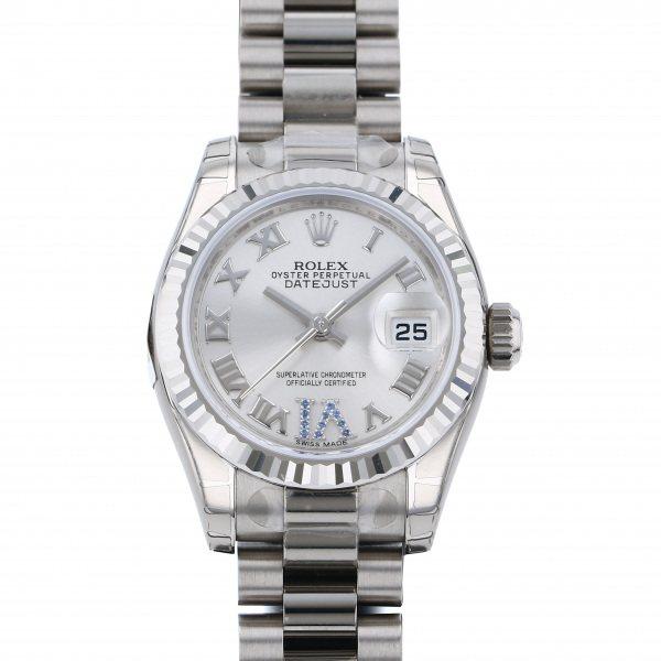 ロレックス ROLEX デイトジャスト 179179 シルバーローマ文字盤 レディース 腕時計 【新品】