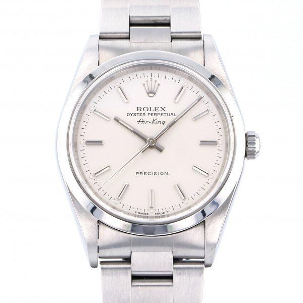 ロレックス ROLEX エアキング 14000 シルバー文字盤 メンズ 腕時計 【中古】