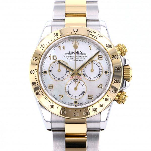 ロレックス ROLEX デイトナ 116523NA ホワイト文字盤 メンズ 腕時計 【中古】