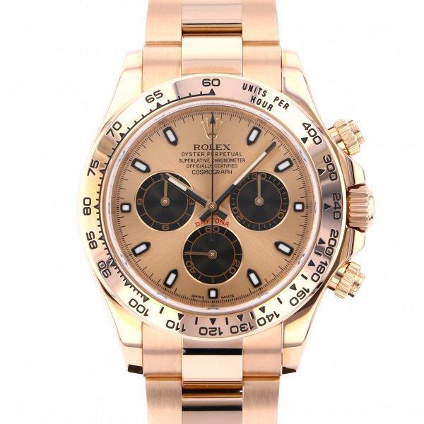 ロレックス ROLEX デイトナ 116505 ピンク/ブラック文字盤 メンズ 腕時計 【中古】