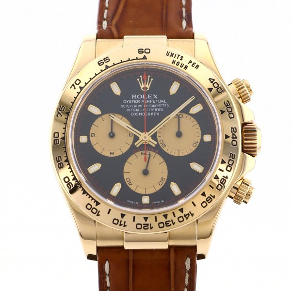 ロレックス ROLEX デイトナ 116518 ブラック文字盤 メンズ 腕時計 【中古】