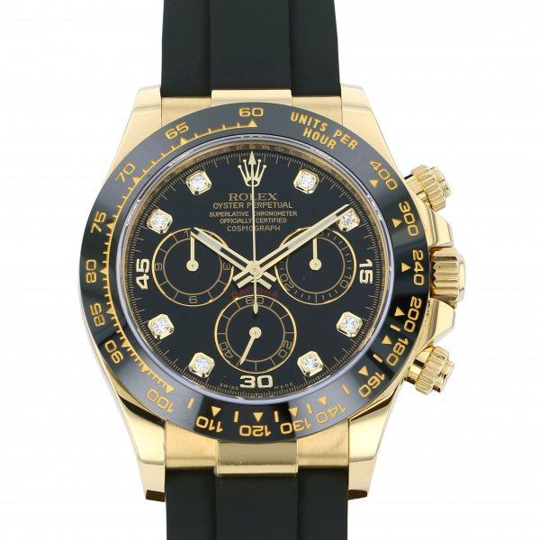ロレックス ROLEX デイトナ 116518LNG ブラック文字盤 メンズ 腕時計 【中古】