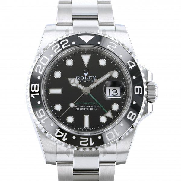 ロレックス ROLEX GMTマスター II 116710LN ブラック文字盤 メンズ 腕時計 【新品】