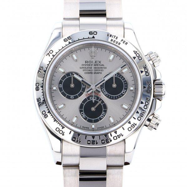 ロレックス ROLEX デイトナ 116509 スチール/ブラック文字盤 メンズ 腕時計 【中古】