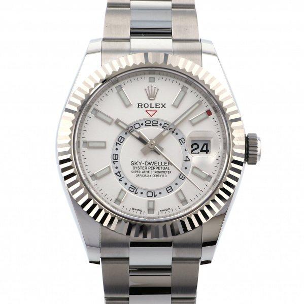 ロレックス ROLEX スカイドゥエラー 326934 ホワイト文字盤 メンズ 腕時計 【新品】