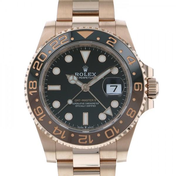 ロレックス ROLEX GMTマスター II 126715CHNR ブラック文字盤 メンズ 腕時計 【新品】