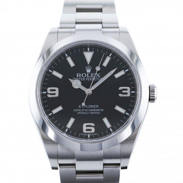 ロレックス ROLEX エクスプローラー I 214270 ブラック文字盤 メンズ 腕時計 【中古】