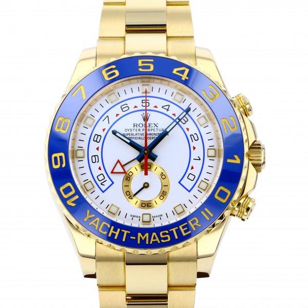 ロレックス ROLEX ヨットマスター II 116688 ホワイト文字盤 メンズ 腕時計 【中古】