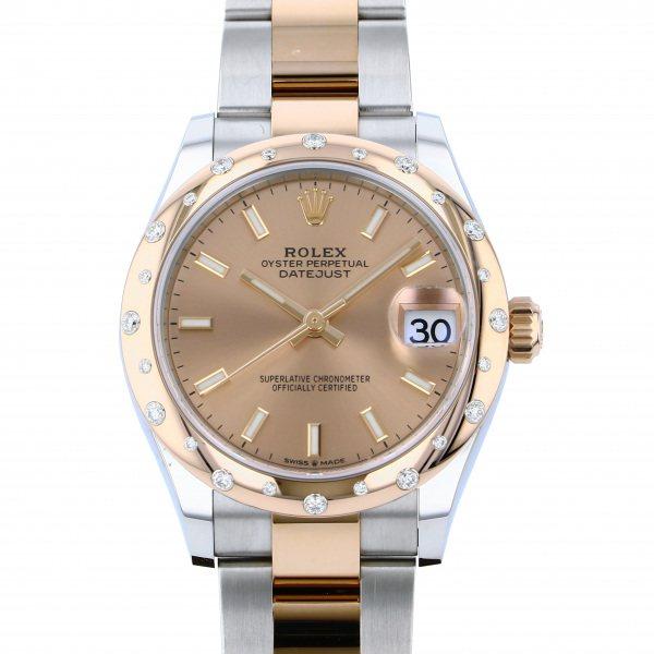 ロレックス ROLEX デイトジャスト 278341RBR ロゼ文字盤 レディース 腕時計 【新品】