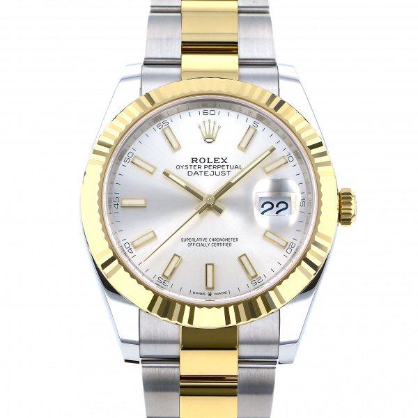 ロレックス ROLEX デイトジャスト 41 126333 シルバー文字盤 メンズ 腕時計 【新品】