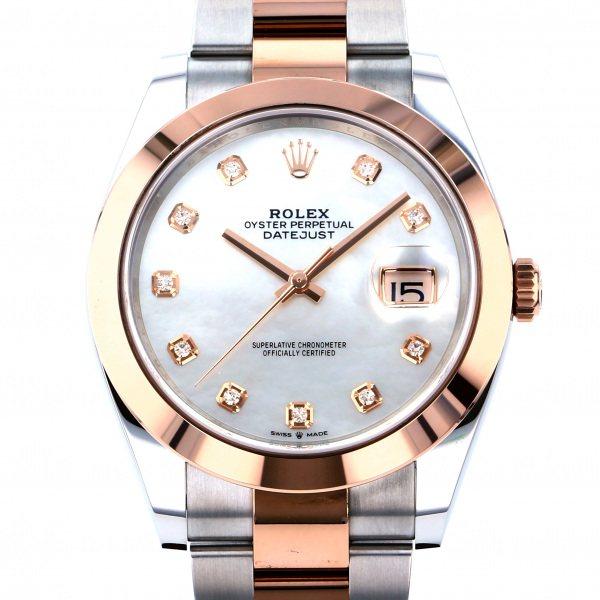 ロレックス ROLEX デイトジャスト 41 126301NG ホワイト文字盤 メンズ 腕時計 【新品】