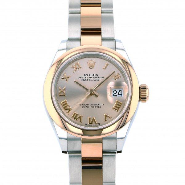 ロレックス ROLEX デイトジャスト 179161 ピンクローマ文字盤 レディース 腕時計 【新品】