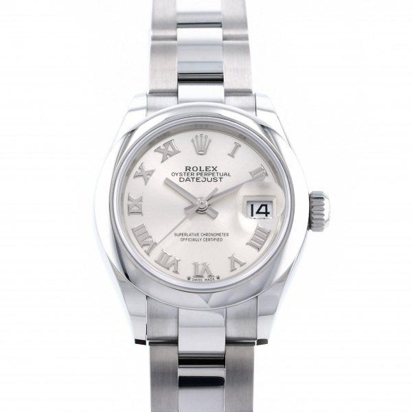 ロレックス ROLEX デイトジャスト 28 279160 シルバーローマ文字盤 レディース 腕時計 【新品】