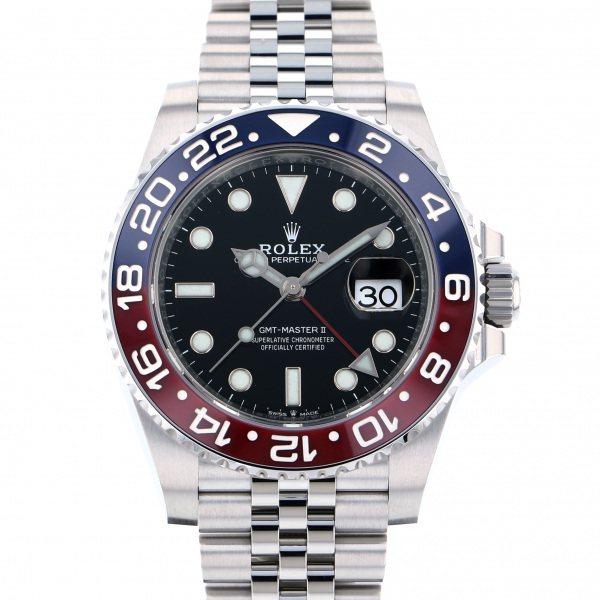 ロレックス ROLEX GMTマスター II 126710BLRO ブラック文字盤 メンズ 腕時計 【新品】