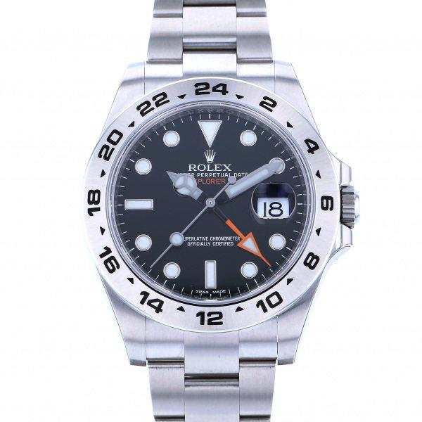 ロレックス ROLEX エクスプローラー II 216570 ブラック文字盤 メンズ 腕時計 【新品】