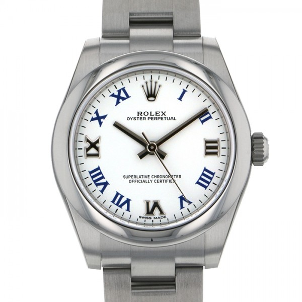 ロレックス ROLEX オイスターパーペチュアル 177200 ホワイト文字盤 レディース 腕時計 【新品】