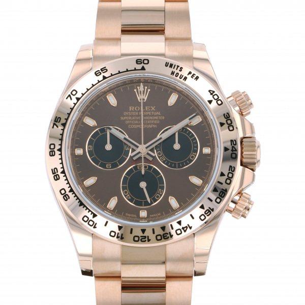 ロレックス ROLEX デイトナ 116505 チョコレート/ブラック文字盤 メンズ 腕時計 【新品】
