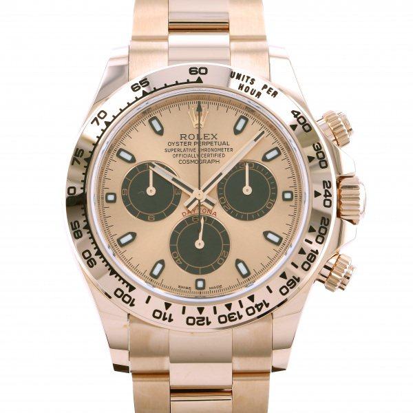 ロレックス ROLEX デイトナ 116505 シャンパン/ブラック文字盤 メンズ 腕時計 【新品】