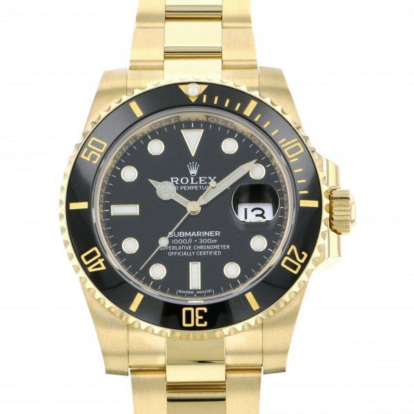 ロレックス ROLEX サブマリーナ デイト 116618LN ブラック文字盤 メンズ 腕時計 【新品】