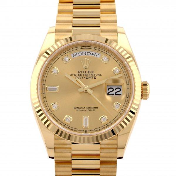 ロレックス ROLEX デイデイト 128238A シャンパン文字盤 メンズ 腕時計 【新品】