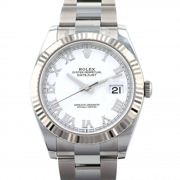 ロレックス ROLEX デイトジャスト 41 126334 ホワイトローマ文字盤 メンズ 腕時計 【新品】