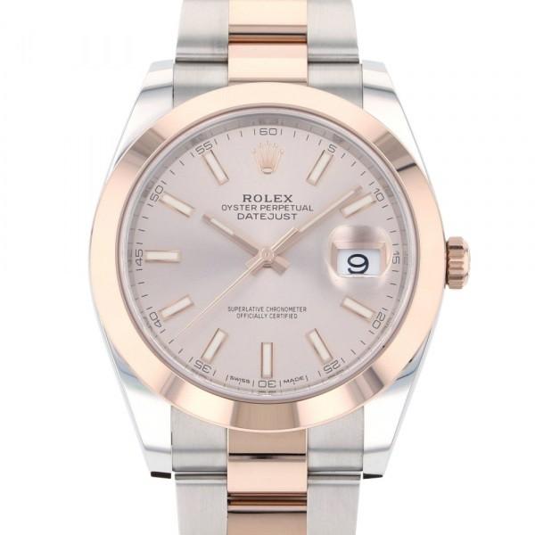 ロレックス ROLEX デイトジャスト 41 126301 サンダスト文字盤 腕時計 付与 18%OFF 新品 メンズ