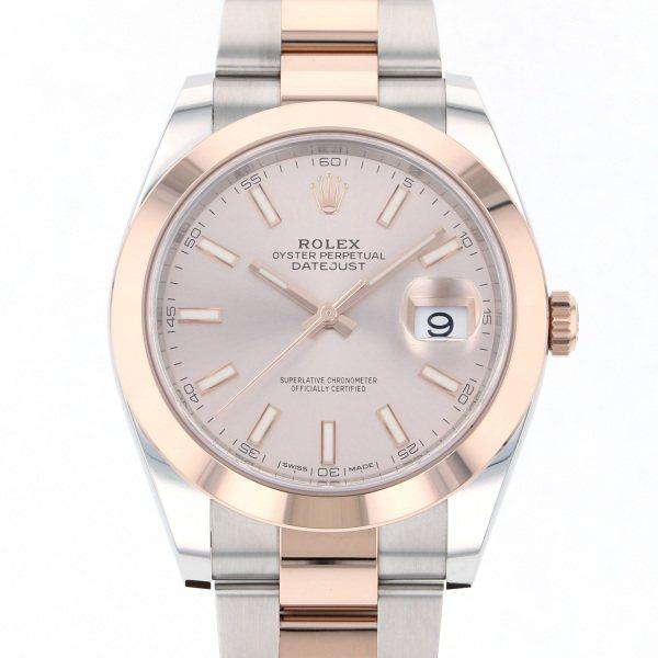 ロレックス ROLEX お気に入 デイトジャスト 41 126301 定番スタイル メンズ 腕時計 サンダスト文字盤 新品