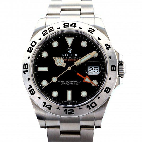 【楽ギフ_のし宛書】 ロレックス ROLEX エクスプローラー II 216570 ブラック文字盤  腕時計 メンズ, セナ 1d7d0e67