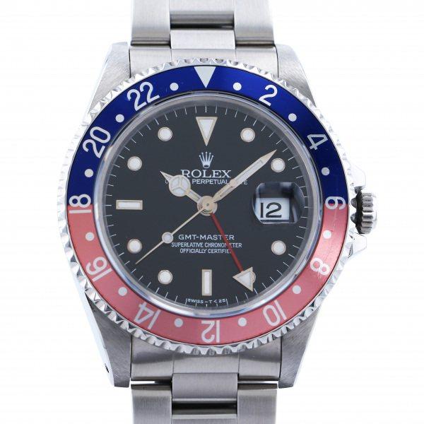 ロレックス ROLEX GMTマスター 16700 ブラック文字盤 メンズ 腕時計 【中古】