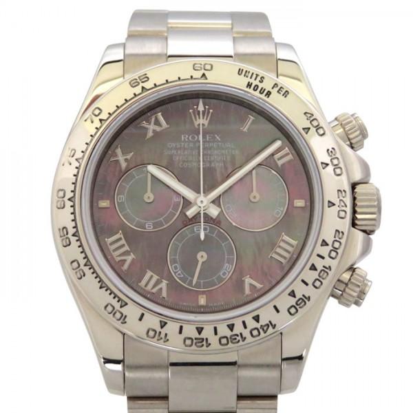 【全品 ポイント10倍 4/9~4/16】ロレックス ROLEX デイトナ 116509NR ブラックローマ文字盤 メンズ 腕時計 【中古】