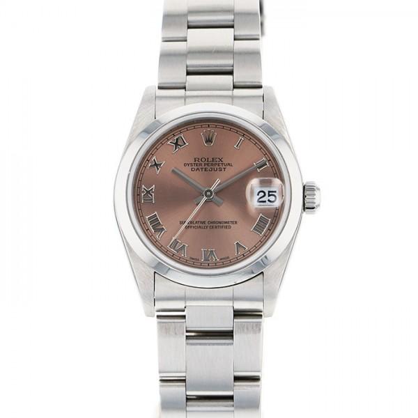 【期間限定ポイント5倍 5/5~5/31】 ロレックス ROLEX デイトジャスト 78240 ピンクローマ文字盤 レディース 腕時計 【新品】