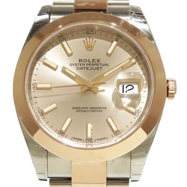 ロレックス ROLEX デイトジャスト 41 国内即発送 126301 サンダスト文字盤 要エントリー メンズ 新品 ポイント5倍 大人気 腕時計