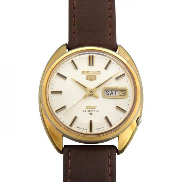 【全品 ポイント10倍 4/9~4/16】セイコー SEIKO その他 DX5 6106-7000 シルバー文字盤 メンズ 腕時計 【中古】