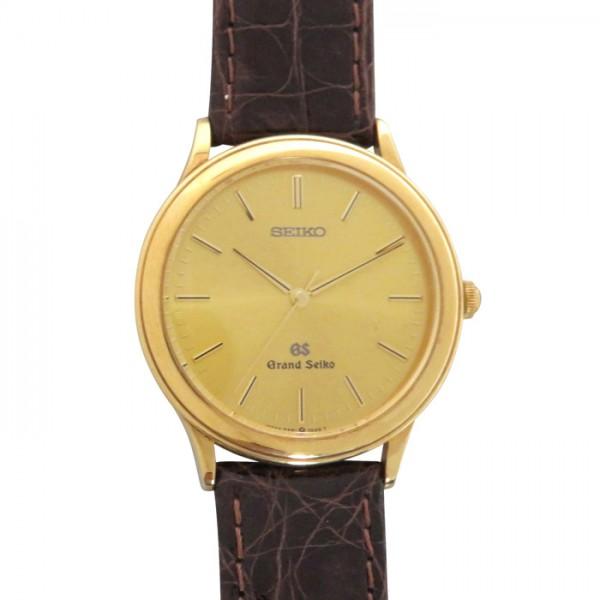 セイコー SEIKO ラウンド3針 9571-8000 ゴールド文字盤 メンズ 腕時計 【アンティーク】