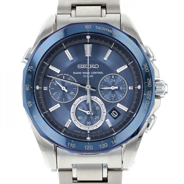 セイコー SEIKO その他 ブライツ SAGA023 ブルー文字盤 メンズ 腕時計 【新品】