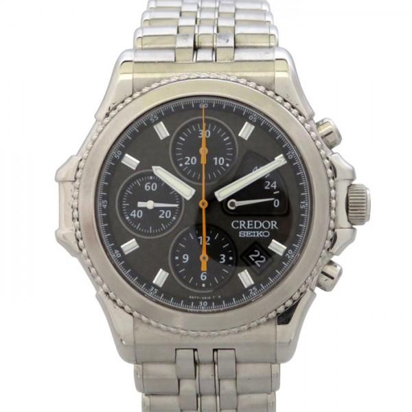 セイコー SEIKO その他 クレドール パシフィーク 2000年限定2000本 GCBK997(6S77-0A10) ブラック文字盤 メンズ 腕時計 【新品】
