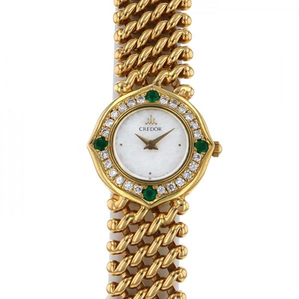 セイコー SEIKO その他 クレドール 1E70-0A5A ホワイト文字盤 レディース 腕時計 【アンティーク】