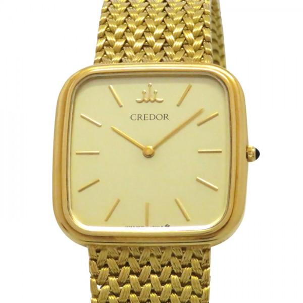セイコー SEIKO その他 クレドール 9570-5070 シルバー文字盤 メンズ 腕時計 【アンティーク】