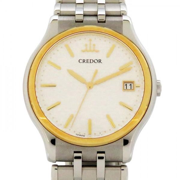 セイコー SEIKO その他 クレドール 8J86-7A00 シルバー文字盤 メンズ 腕時計 【アンティーク】